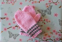 Ravelry: Toddler Baby Mittens FREE pattern by marianna mel.