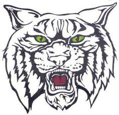 I go to ACMS home of the wildcat Waldo School Shirt Designs, Pendleton Shirts, Mean Cat, Go Big Blue, Spirit Shirts, Wood Burning Patterns, Tattoo Sleeve Designs, Cricut Vinyl, Digital Stamps