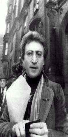 John Lennon, The Dakota, West 72nd Street, December 5, 1980