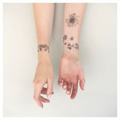 Image of NATURE GIRL Daisy Chains Temporary Tattoo Kit