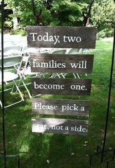 10 Funniest Wedding Signs (wedding sign) - ODDEE