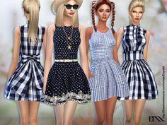 EsyraM's Lola Spring Cotton Dress