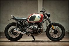 Transformed BMW R45 by Motorecyclos