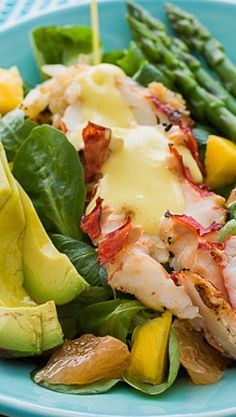 Lobster Salad with Creamy Citrus Dressing....