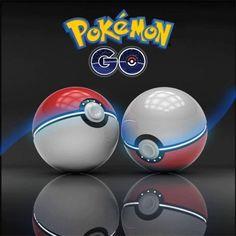 Pokemon Go Power Bank 12000mAh Pokeball Portable Duel USB Battery Charger + LED Light