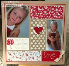 Love...could be Valentine layout