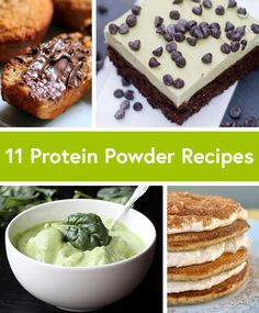 11 Unexpected Protein Powder Recipes! #protein #recipes