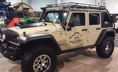 Wild Boar products make really cool accessories for Jeeps. http://timbren.com/2014/11/sema-2014-day-3/