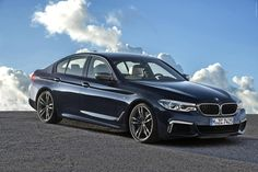 Fans of diesel-powered cars will be excited to hear that after a year hiatus, the BMW xDrive sedan will return to the US next month. Bmw 540, New Bmw 5 Series, Bmw Serie 5, E60 Bmw, 2017 Bmw, Car Posters, Poster Poster, Bmw Models, Sport Seats