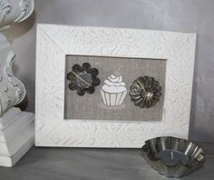 Cadre  theme patisserie  cupcake