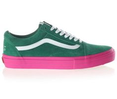 Vans Old Skool Pro S Shoe Golf Wang Green/Pink > Shoes | Active Ride Shop