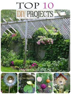 Top 10 DIY Projects for the home and garden