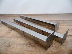 28 Steel Post Table LegsStainless Steel HEIGHT 26 30 by Balasagun