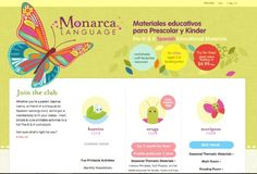 Monthly subscription service with some of the best educational printables and activities we've seen made just for bilingual (Spanish/English) kids