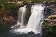Waterfall Little River Canyon National Preserve, Alabama