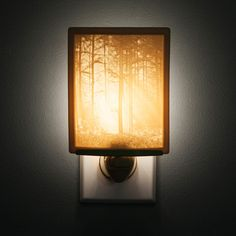 Woodland Sunbeams Lithopane Nightlight - £17.28