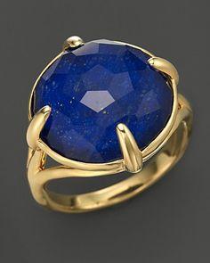 Ippolita 18K Gold Gelato Stone Ring in Lapis Doublet | Bloomingdale's
