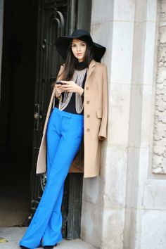 Doina Ciobanu Love the pants and hat