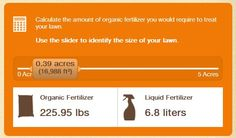 Spend less time doing math and more time on what you love. Use this online tool to calculate the amount of organic fertilizer required to treat your lawn. Liquid Fertilizer, Organic Fertilizer, Outdoor Projects, Outdoor Ideas, I Love Winter, Deck Decorating, Garden Club, Eco Friendly House, Green Cleaning