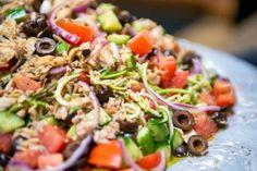 No-Tomato Sauce (Tomato-Free Pasta Sauce) Almond Filling Recipe, Tuna Pesto, Bell Pepper Salad, Spiral Vegetable Slicer, Braised Red Cabbage, Zucchini Salad, Onion Relish, Shredded Zucchini, Tuna