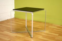 Living Room Furniture :: End Tables :: Cyma Square Side Table - Bachelor Furniture: Bar Furniture, Dorm Furniture, Apartment Furniture