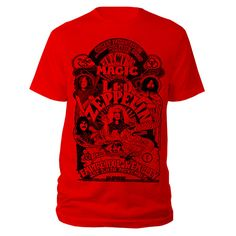 Electric Magic Red T-shirt  € 24,95