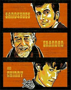 Sandshoes - Grandad - Chinny <<< #FanX is coming! April 17-19, 2014, saltlakecomiccon.com >>> #doctorwho