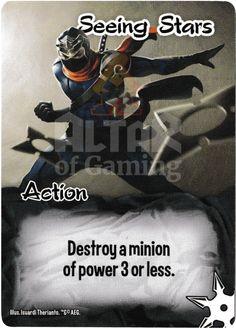 Seeing Stars - Ninjas - Smash Up Card | Altar of Gaming