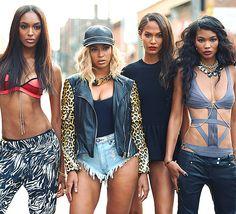 Jourdan Dunn, Beyonce, Joan Smalls & Chanel Iman | Gorgeous!!!