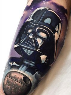 http://www.tattooesque.com/darth-vader-by-levi-barnett/