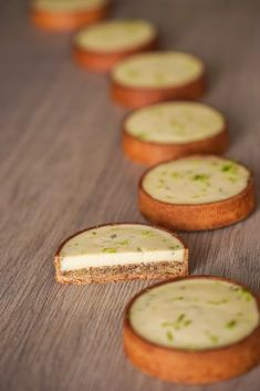 Tartelette citron et basilic – Le Groumand - The Best Chefs Recipes Desserts Français, Desserts With Biscuits, French Desserts, Dessert Recipes, Tart Recipes, Chef Recipes, Healthy Dinner Recipes, Baking Recipes, Whole Food Recipes