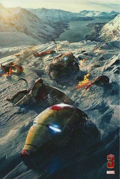 Unused Poster Designs for IRON MAN 3 - News - GeekTyrant
