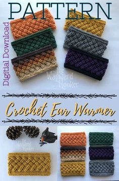 12 Pcs Bamboo Crochet Hook Set Love this celtic weave crochet headband pattern. Perfect ear warmer for a last minute gift idea. Works up quickly, makes a great beginner crochet pattern! The post 12 Pcs Bamboo Crochet Hook Set appeared first on Welcome! Crochet Patterns For Beginners, Knitting For Beginners, Knitting Patterns Free, Easy Knitting, Start Knitting, Quick Crochet Patterns, Free Pattern, Knitting Scarves, Knitting Ideas