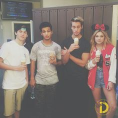 Olivia Holt & Austin North: Disneyland Fun With Jordan Fisher