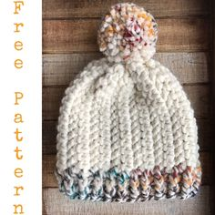 Pattern: The Pebbles Beanie - Evelyn And Peter Crochet