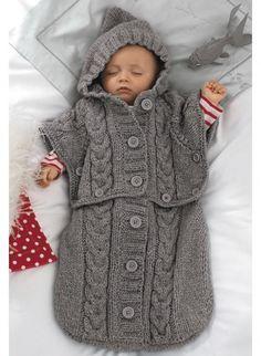 patron tricot nid d ange bébé