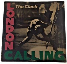 "The Clash London Calling 2 12"" LPs Vinyl Classic Punk 1979 Epic #BritishInvasionBritpopExperimentalRockGarageRockHardRockProgressiveArtRockPsychedelicRockRocknRollRootsRock"