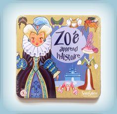 TWÓJ POMYSŁ NA PREZENT-  UBIERANKA ZOE UCZY SIĘ HISTORII Zabawka z pewnością umili czas w podróży a jednocześnie przedstawi dzieciom historię ubioru i mody na przestrzeni wieków. Dobry start do głębszej nauki historii.