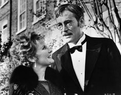 """Petula Clark and Peter O'Toole go out for an evening on the town in a scene from the 1969 film """"Goodbye, Mr. Chips."""""""