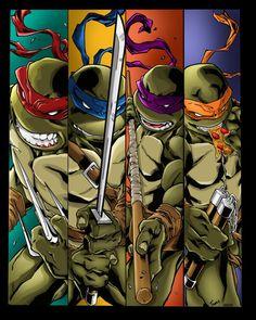 Teenage Mutant Ninja Turtles - Michelangelo Colors by ClaytonBarton on DeviantArt Michelangelo, Teenage Mutant Ninja Turtles, Turtle Background, Ninja Turtle Tattoos, Ninja Turtles Art, Deviantart, Comic Books Art, Book Art, Anime