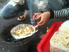 Rice Paper Tacos – A Popular Street Food in Saigon, Vietnam (aka Bánh Tráng Nuong)