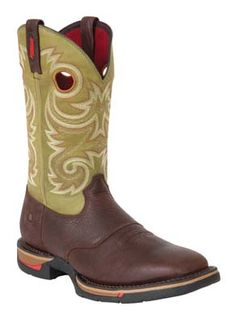 Work hard in these men's overdrive pull on boot by Ariat ...