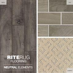 Looking for neutral design ideas? We've gathered some flooring & tile options to spark inspiration. Neutral Carpet, Vinyl Flooring, Home Renovation, Tile Floor, Hardwood, Design Ideas, Decor Ideas, Crafts, Inspiration