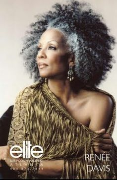 This is what I am doing with my hair when I go gray...