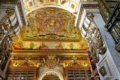 Universitade Biblioteca Joanina Coimbra