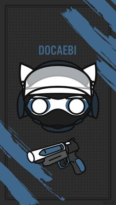 Dokki-Chibi - Adorable and Dangerous Rainbow Six Siege Dokkaebi, Rainbow 6 Seige, Tom Clancy's Rainbow Six, R6 Wallpaper, Live Wallpaper Iphone, Rainbow Wallpaper, Rainbow Meme, Rainbow Art, Go Game