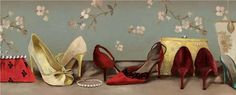 Shoe Lineup - Aimee Wilson