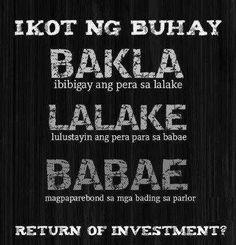 Ganyan talaga ikot ng buhay :D Bisaya Quotes, Tagalog Quotes Hugot Funny, Pinoy Quotes, Patama Quotes, Hugot Quotes, Funny Qoutes, Quotable Quotes, Happy Quotes, Funny Hugot