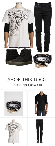 """No title 40"" by emily102901 ❤ liked on Polyvore featuring ASOS, Joe's Jeans, County Of Milan, Vans, men's fashion and menswear"