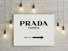 prada prada marfa prada marfa canvas prada marfa by GorgeousGD